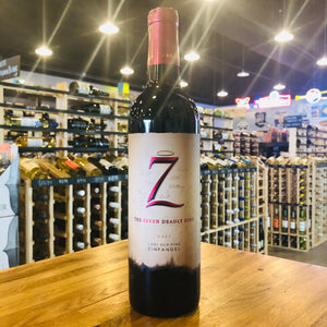 7 THE SEVEN DEADLY ZINS ZINFANDEL 2017 750ML