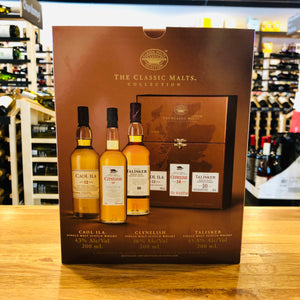 THE CLASSIC MALTS COLLECTION CAOL ILA, CLYNELISH & TALISKER (3) 200ML