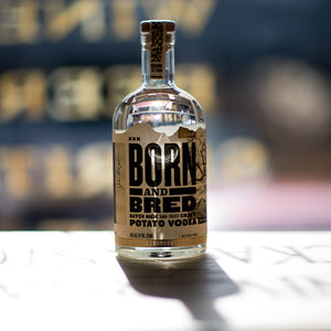 BORN AND BRED VODKA 750ML