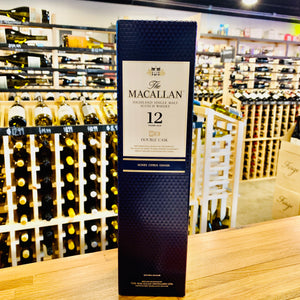 THE MACALLAN 12 YEAR DOUBLE CASK SINGLE MALT SCOTCH WHISKY 750ML