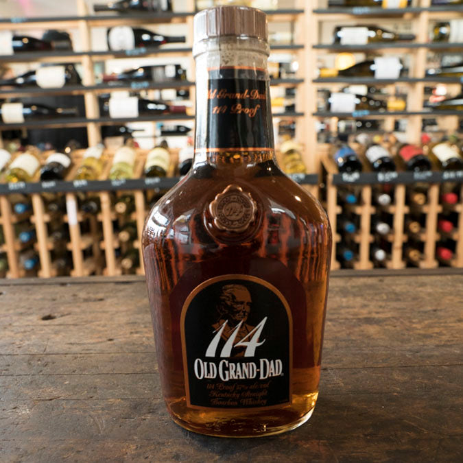OLD GRAND DAD 114 PROOF STRAIGHT BOURBON 750ML