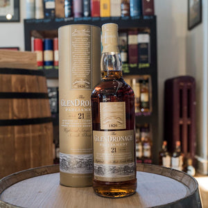 GLENDRONACH PARLIAMENT HIGHLAND SINGLE MALT SCOTCH 21 YEAR 750ML