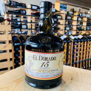 EL DORADO RUM 15 YEAR 750ML