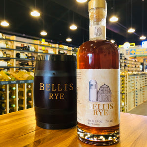 BELLIS RYE WHISKEY 750ML