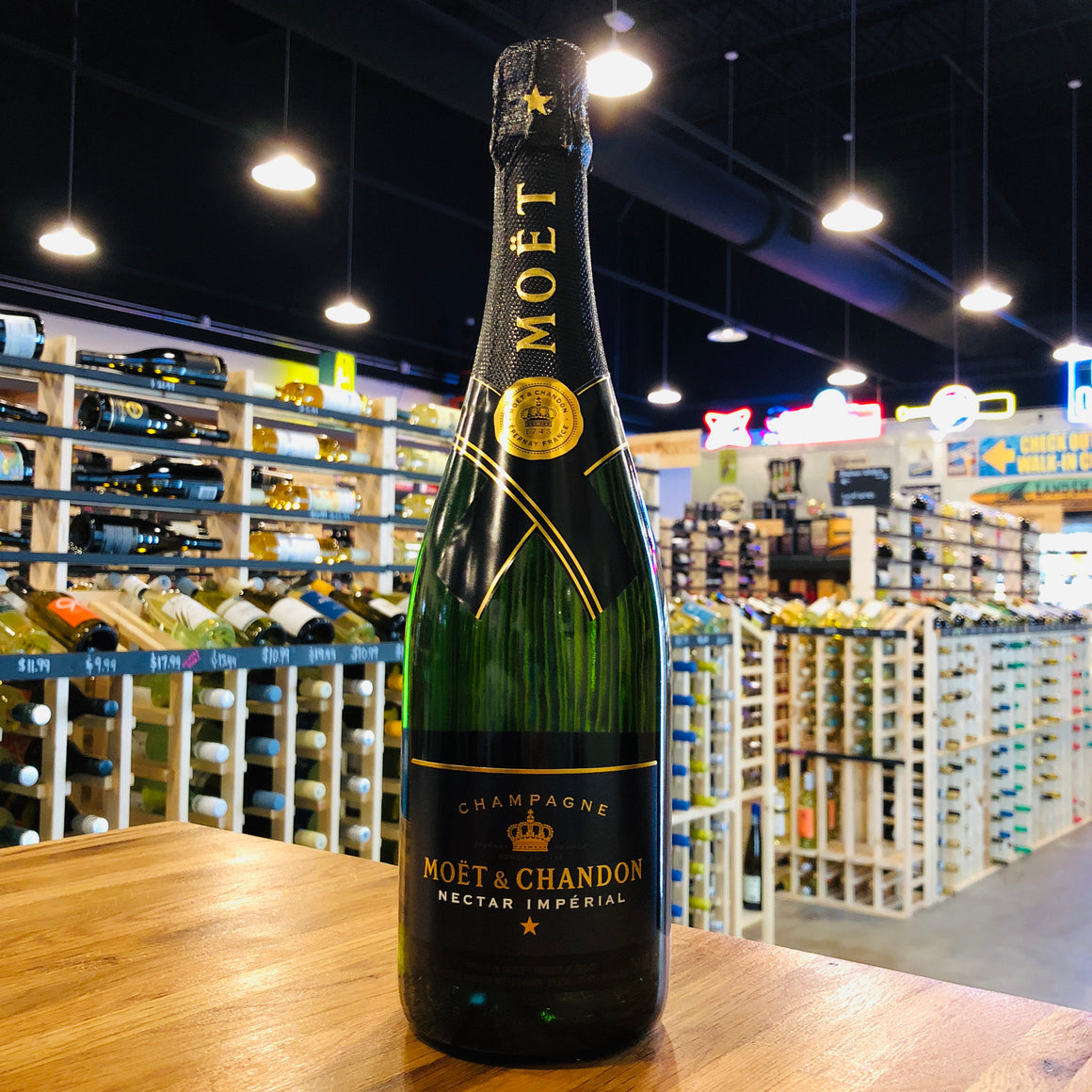 MOET & CHANDON NECTAR IMPERIAL CHAMPAGNE 750ML