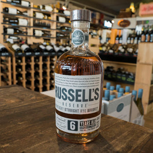 RUSSELL'S  6YR STRAIGHT RYE WHISKEY 750ML