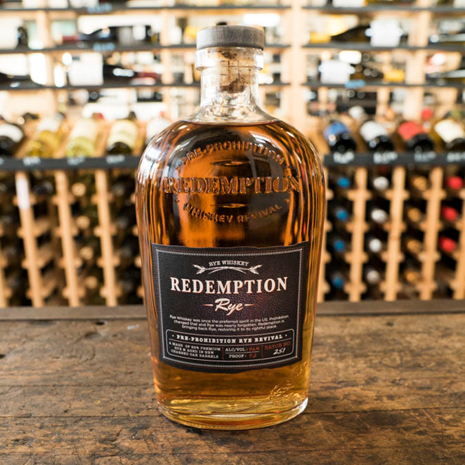 REDEMPTION RYE WHISKEY 750ML