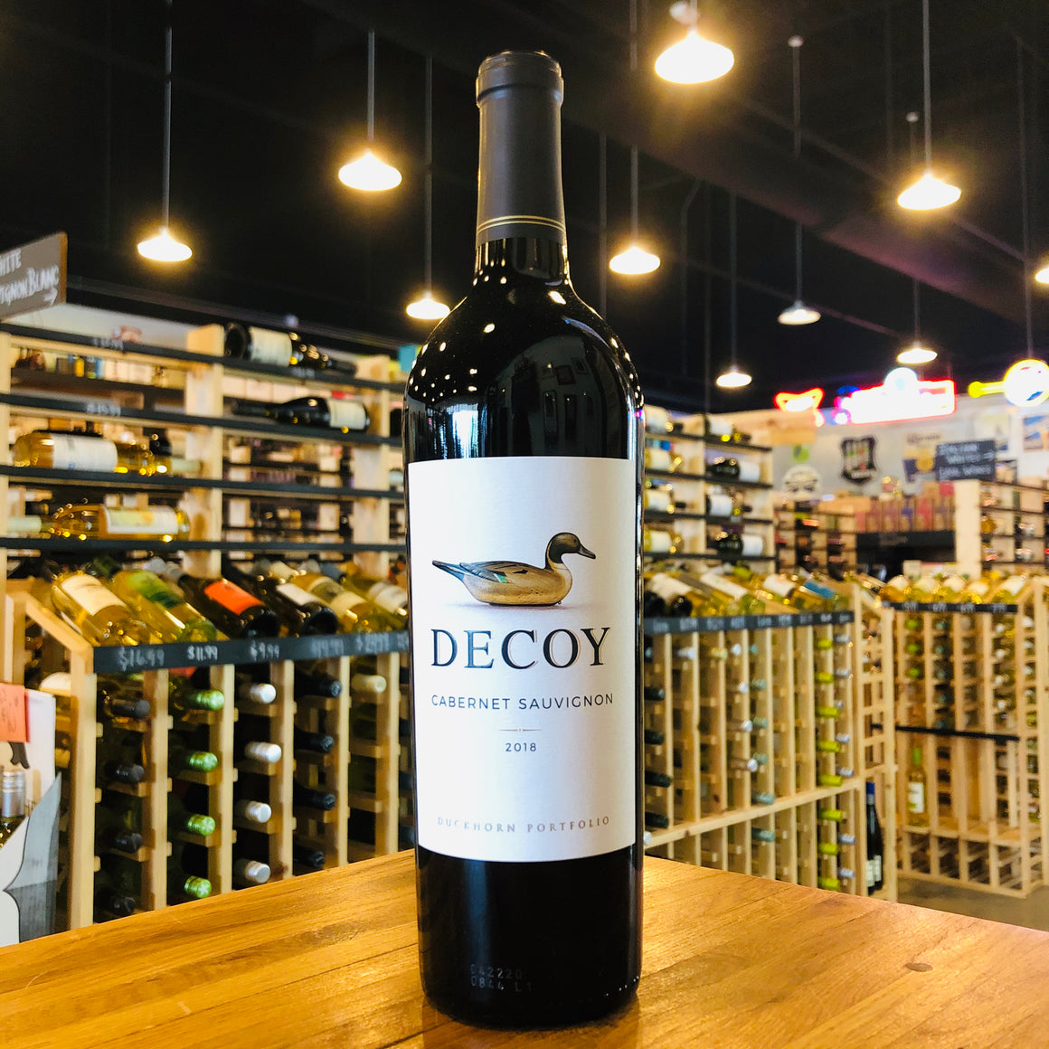 DECOY SONOMA COUNTY CABERNET SAUVIGNON 2018 750ML