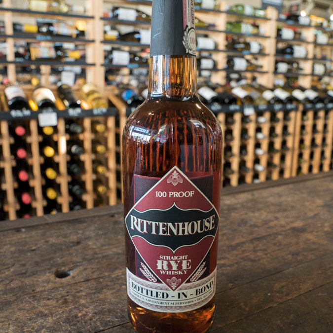 RITTENHOUSE BOTTLED IN BOND RYE 750ML