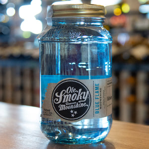 OLE SMOKY MOONSHINE BLUE FLAME 750ML