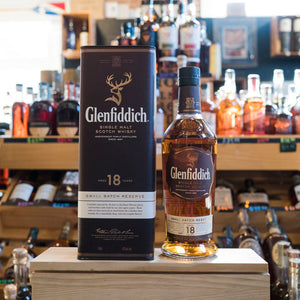 GLENFIDDICH SMALL BATCH RESERVE SINGLE MALT SCOTCH 18 YEAR 750ML