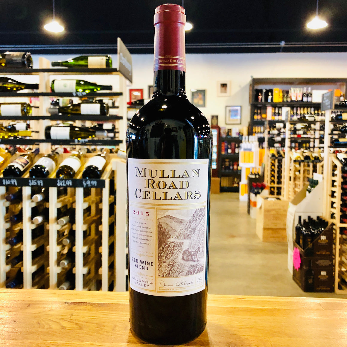 MULLAN ROAD CELLARS RED WINE BLEND 2015 750ML