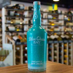 BLUE CHAIR PINEAPPLE RUM CREAM 750ML
