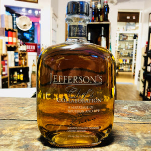 JEFFERSON'S CHEF'S COLLABORATION MARRIAGE OF BOURBON AND RYE  750ML