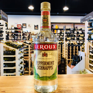 LEROUX PEPPERMINT SCHNAPPS 100 PROOF 750ML