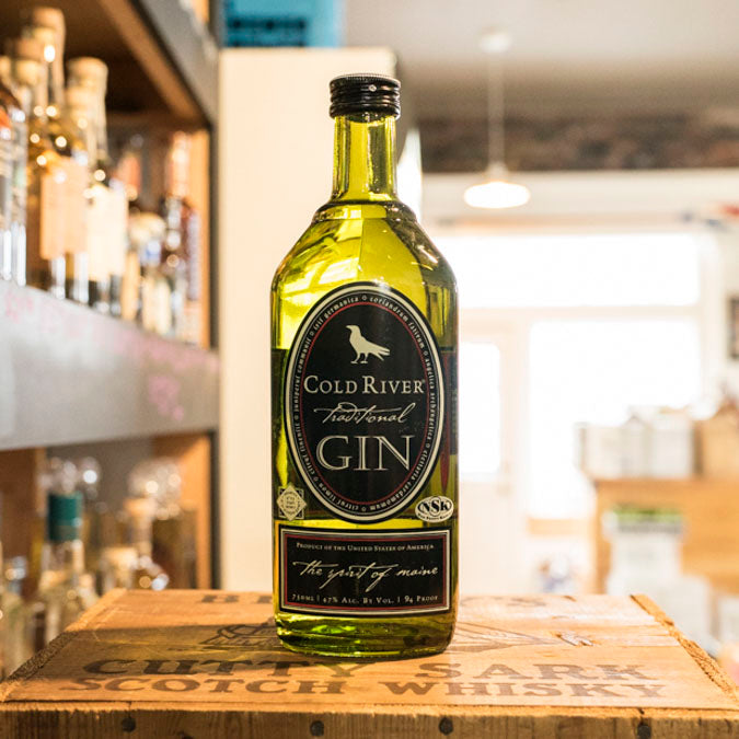 COLD RIVER GIN 750ML