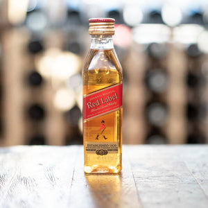 JOHNNIE WALKER RED LABEL BLENDED SCOTCH WHISKY 50ML