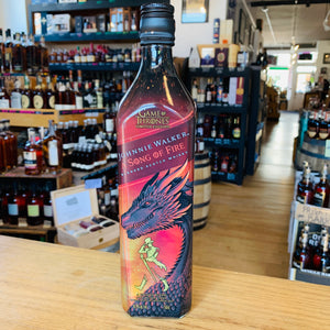 JOHNNIE WALKER GAME OF THRONES A SONG OF FIRE BLENDED SCOTCH WHISKY 750ML