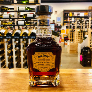 JACK DANIEL'S SINGLE BARREL BARREL PROOF WHISKEY 375ML