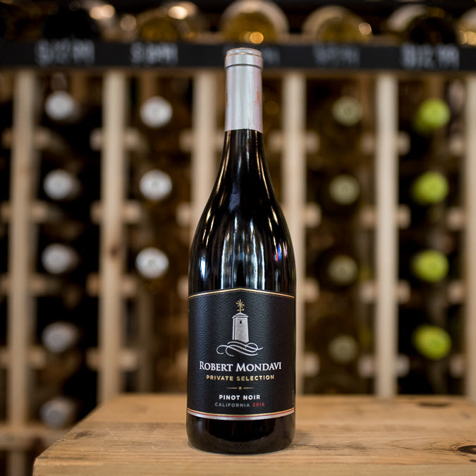 ROBERT MONDAVI PRIVATE SELECTION PINOT NOIR 750ML