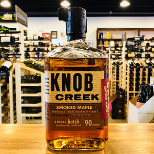 KNOB CREEK SMOKED SMOKED MAPLE BOURBON 750ML