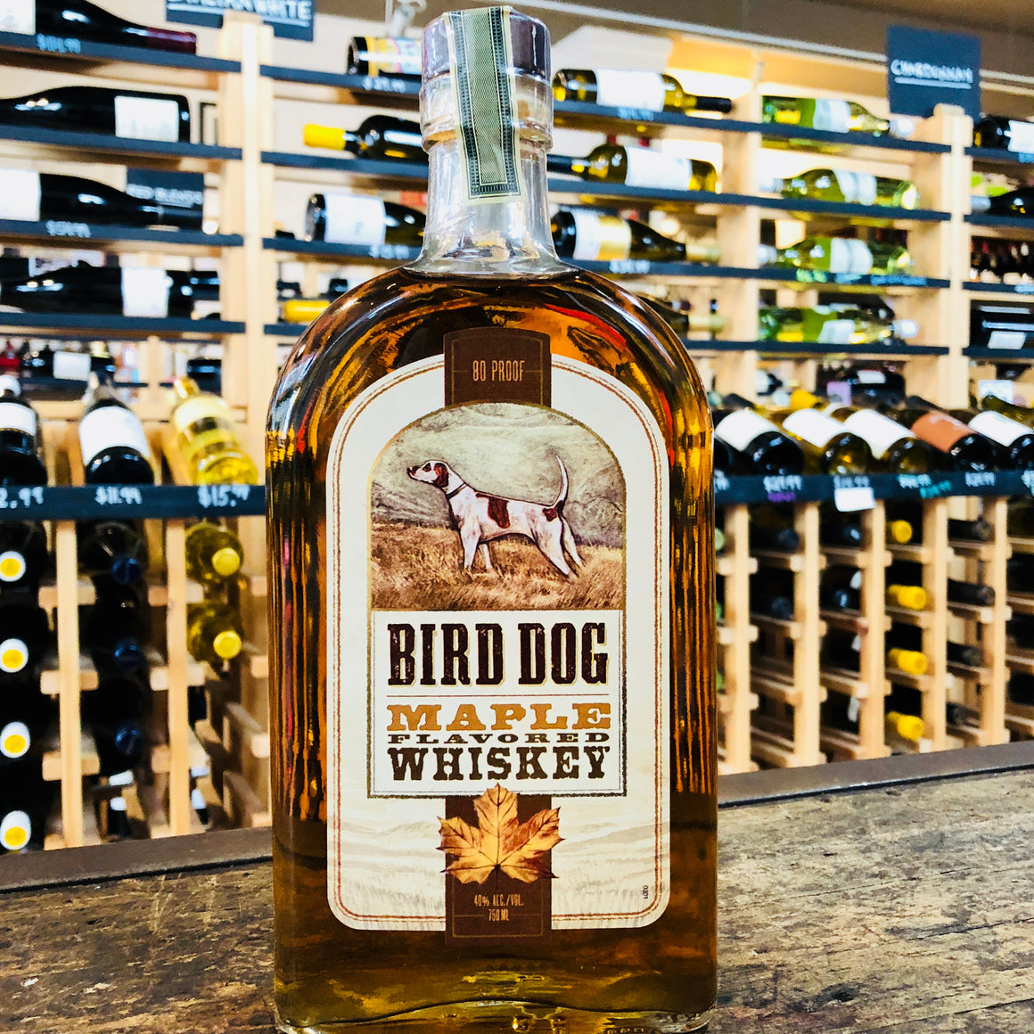 BIRD DOG MAPLE WHISKEY 750ML