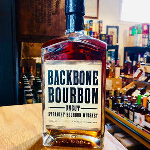 BACKBONE UNCUT BOURBON 750ML