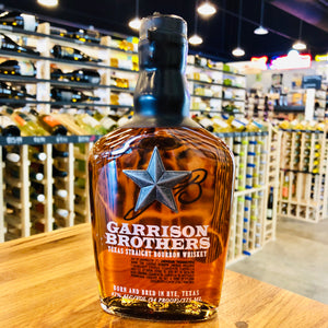 GARRISON BROTHERS TEXAS STRAIGHT BOURBON WHISKEY 375ML