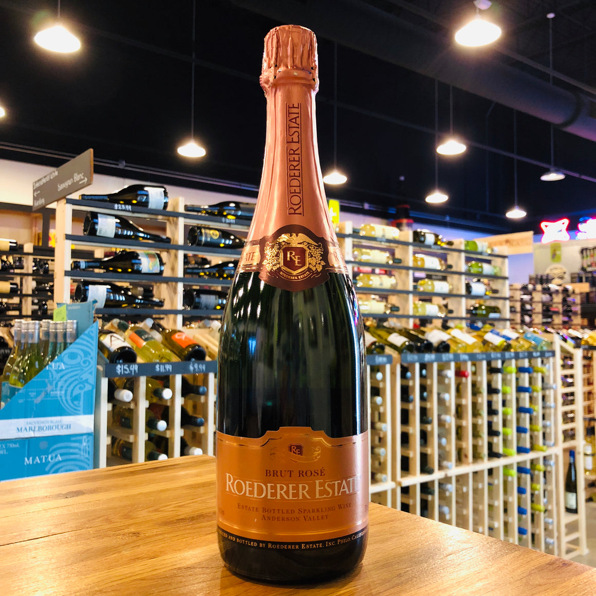 ROEDERER ESTATE BRUT ROSE NV 750ML