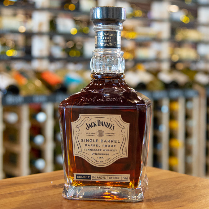JACK DANIEL'S SINGLE BARREL BARREL PROOF WHISKEY 750ML