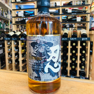 THE SHINOBU MIZUNARA OAK PURE MALT WHISKY 750ML