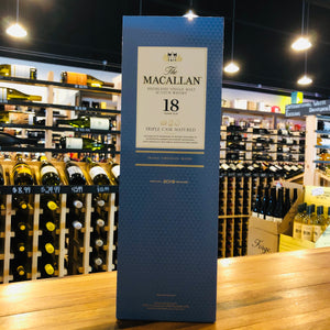 MACALLAN 18 YEAR TRIPLE CASK SINGLE MALT 750ML