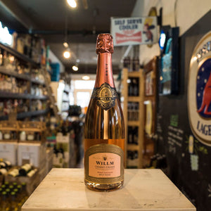 WILLM CREMANT D'ALSACE BRUT ROSE NV 750ML