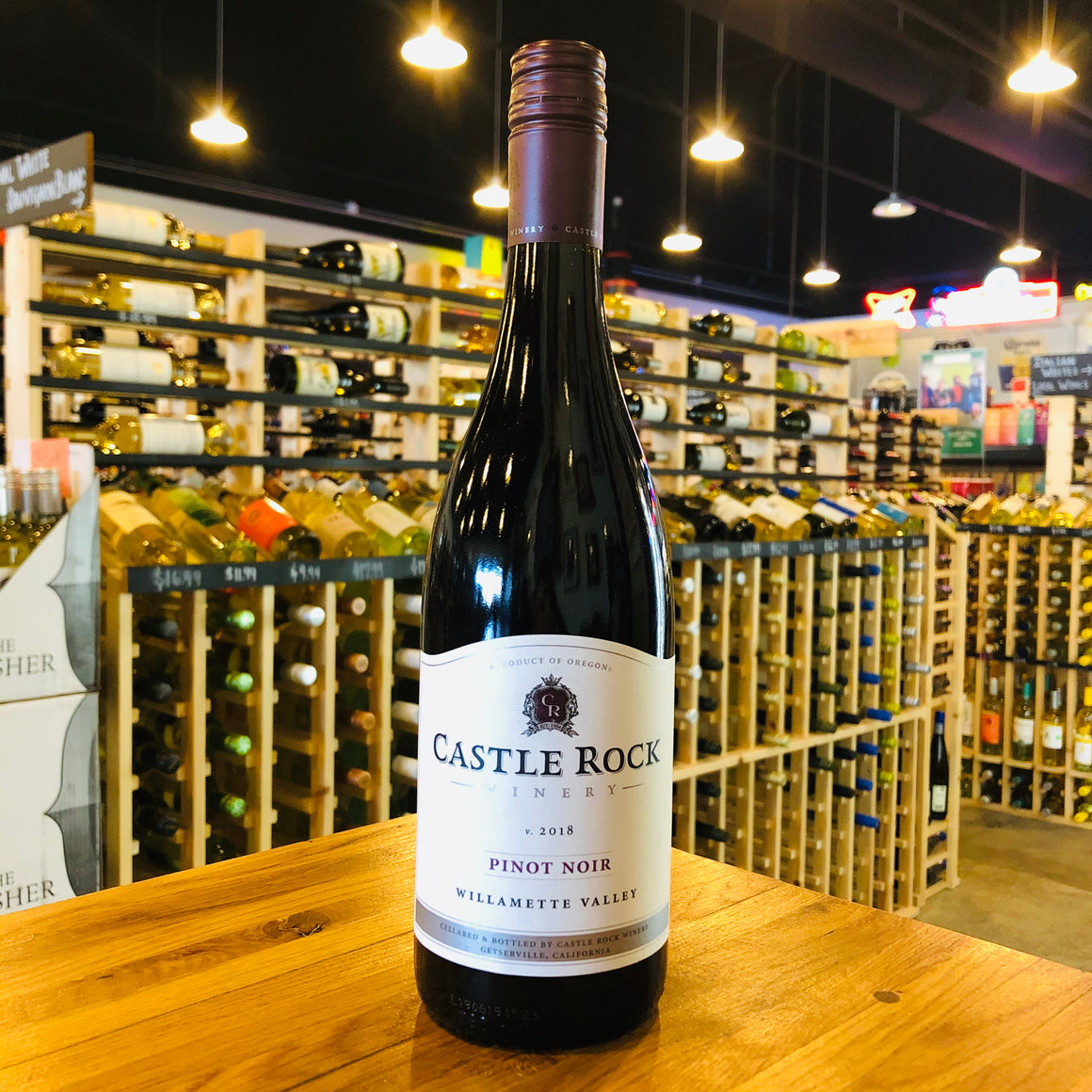 CASTLE ROCK WILLAMETTE VALLEY PINOT NOIR 2018 750ML