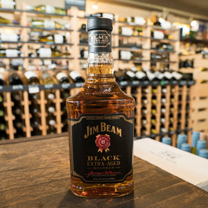 JIM BEAM BLACK EXTRA AGED BOURBON 750ML