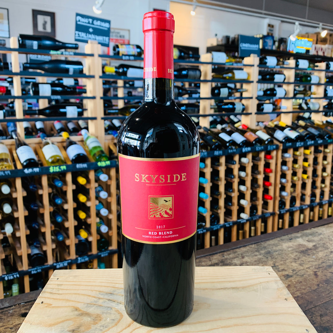 Wine Red Blend California Universal Package Store
