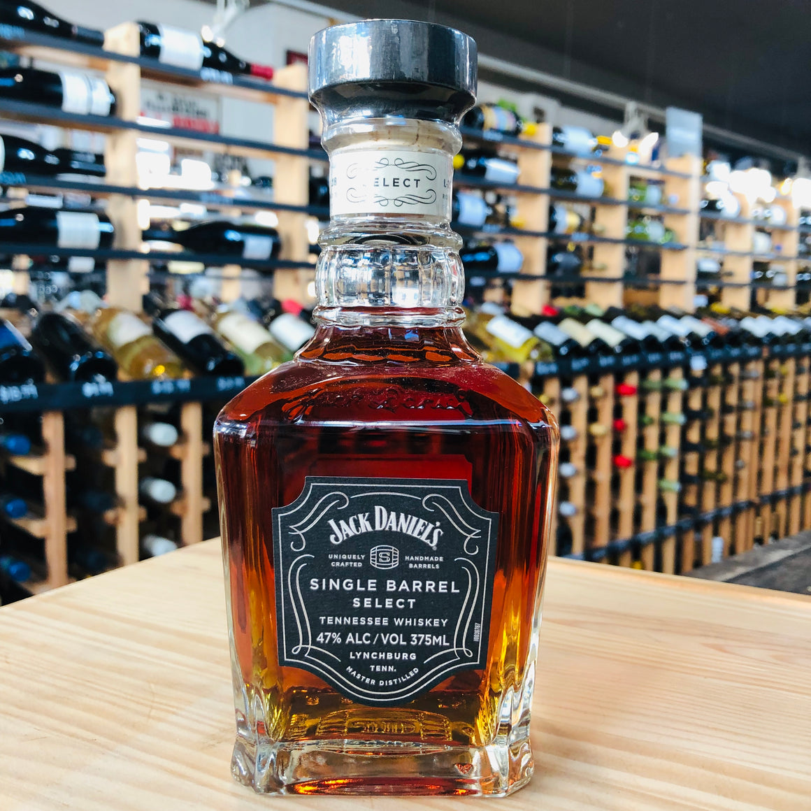 JACK DANIEL'S SINGLE BARREL SELECT WHISKEY 375ML