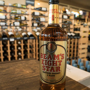 BEAM'S EIGHT STAR WHISKEY 1L