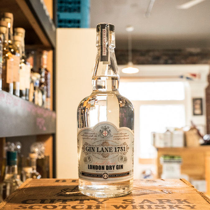 GIN LANE 1751 LONDON DRY 750ML