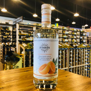 21 SEEDS VALENCIA ORANGE TEQUILA 750ML