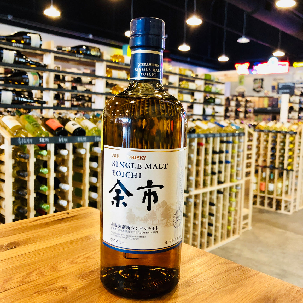 NIKKA YOICHI SINGLE MALT 750ML