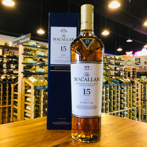 MACALLAN 15 YEAR DOUBLE CASK SINGLE MALT 750ML