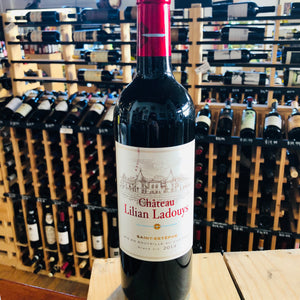 CHATEAU LILIAN LADOUYS SAINT-ESTEPHE ROUGE 2014 750ML
