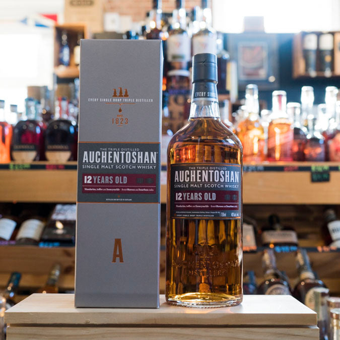 AUCHENTOSHAN SINGLE MALT 12YR 750ML