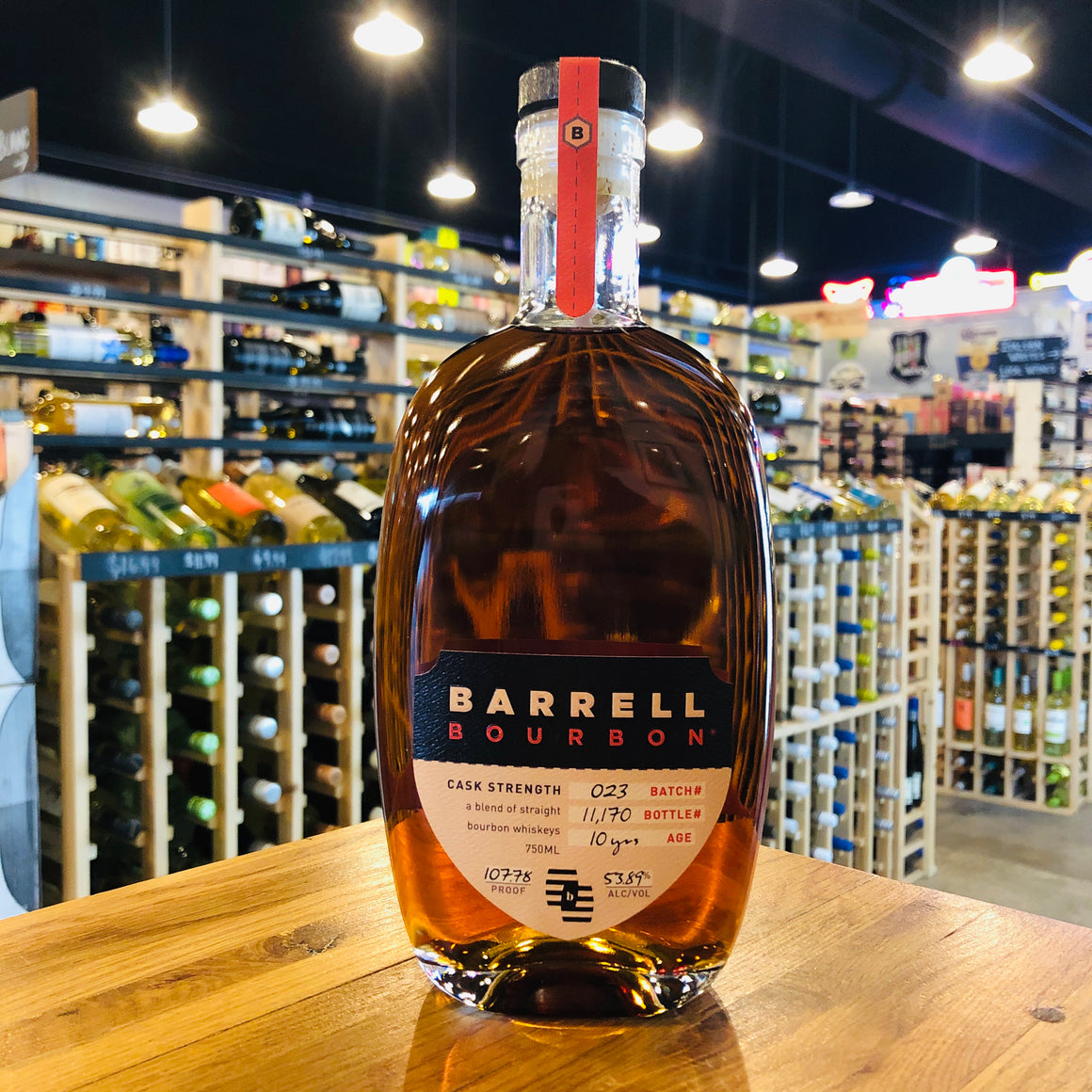 BARRELL BOURBON #023 10 YEAR 750ML