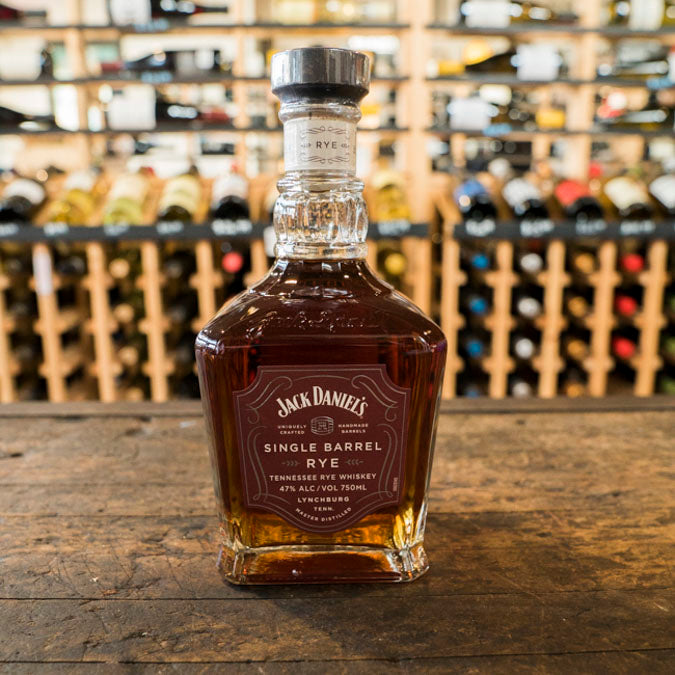 JACK DANIEL'S SINGLE BARREL RYE WHISKEY 750ML