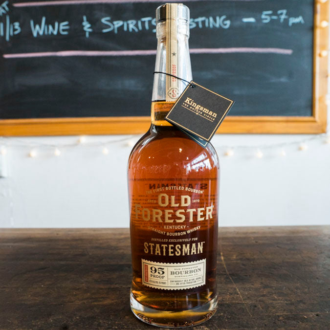 OLD FORESTER STATESMAN BOURBON 750ML