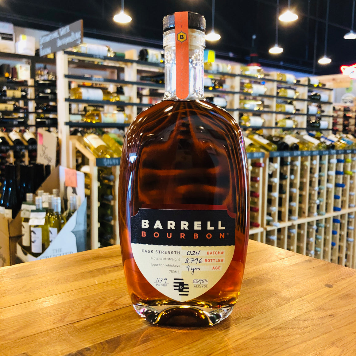 BARRELL BOURBON #24 9 YEAR 750ML