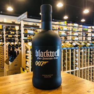 BLACKWELL LIMITED EDITION 007 JAMAICAN RUM 750ML
