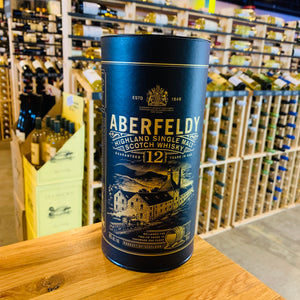 ABERFELDY 12 YEAR HIGHLAND SINGLE MALT SCOTCH 750ML